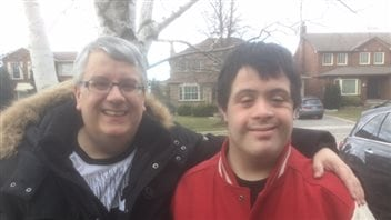 Kevin Whyte says people with Down syndrome, like his son, have emotions like anyone else.