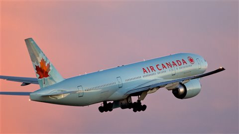 Air Canada Boeing 777. The airline announced today that it will begin offering satellite WiFi on its international flights later this fall