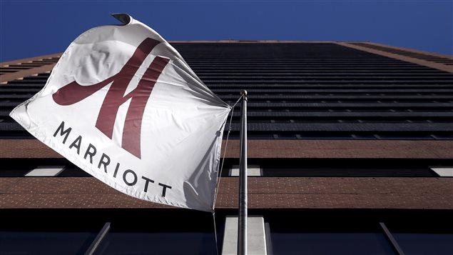 Un hôtel Marriott à Manhattan, New York