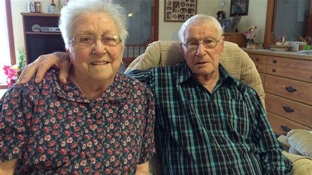 Marie-Anne Thériault et Wildfrid Cormier sont nés en 1924 à Havre-aux-Maisons et ils sont mariés depuis 72 ans