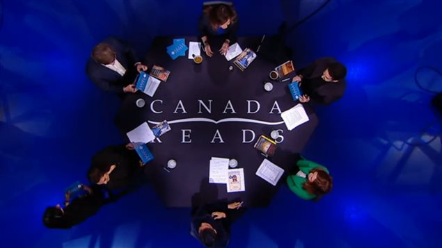 """2016""""加拿大阅读""""辩论现场。"""