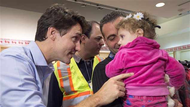 In 2015, Canada's prime minister Justin Trudeau set ambitious targets for accepting Syrian refugees and went to the airport to welcome some early arrivals.