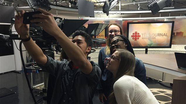 Les participants de Jeun'Info Manitoba en 2016