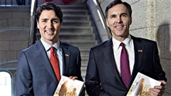Justin Trudeau et Bill Morneau