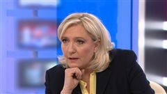 Marine Le Pen, en entrevue avec Anne-Marie Dussault