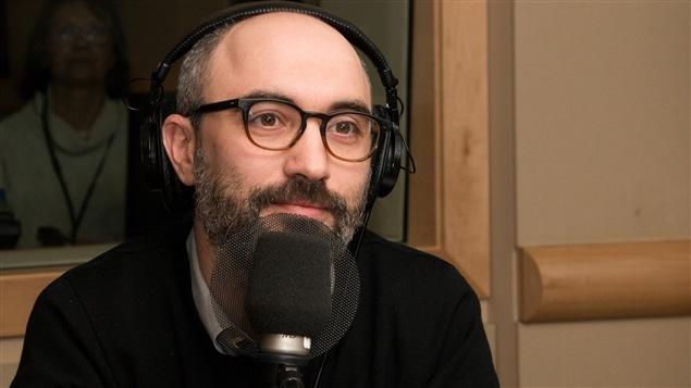Thomas Le Jouan, chef, recherche et d�veloppement aux services num�riques d'ICI Radio-Canada