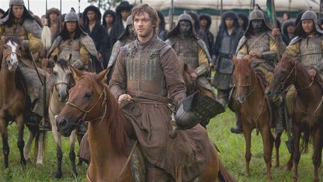 Une scène de la série sur Marco Polo diffusée sur Netflix en 2014