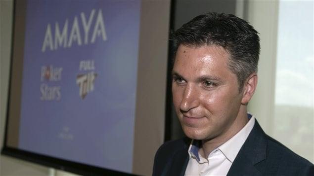 Le PDG d'AMAYA, David Baazov
