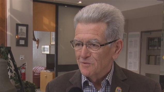 Jean-Guy Cloutier, maire de Lac-Mégantic
