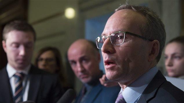 Martin Coiteux, ministro de la Seguridad Pública y Asuntos Municipales de Quebec.