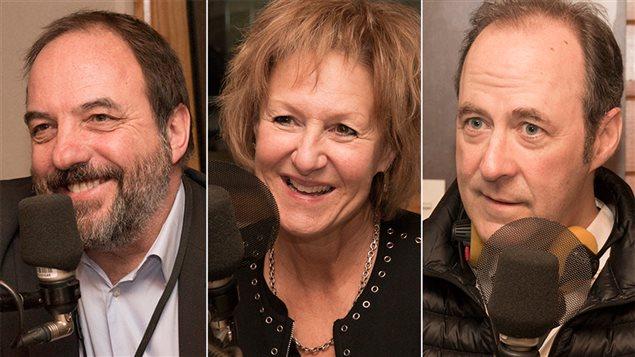 Denis Bernard, Lorraine Pintal et Claude Poissant