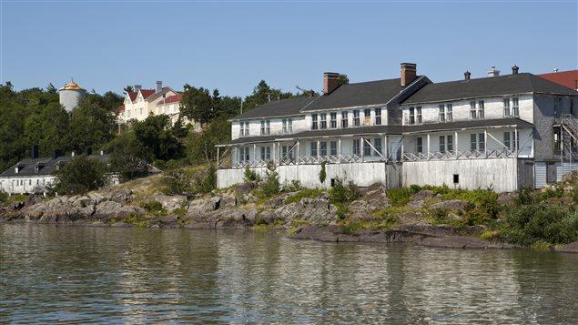 Bâtiments à la Grosse Île