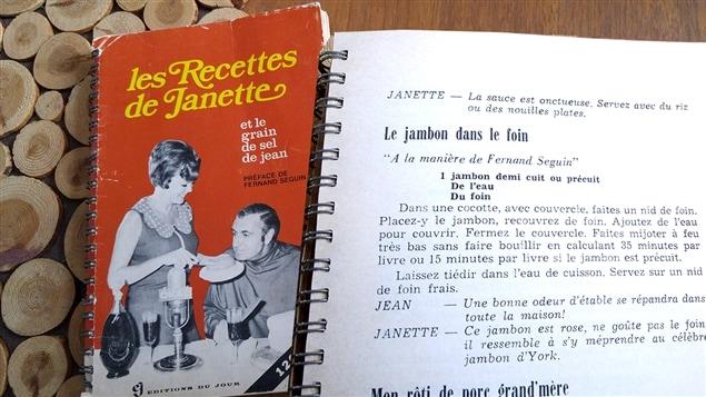 La recette de jambon dans le foin de Janette, du livre <em>Les recettes de Janette</em> (1968)
