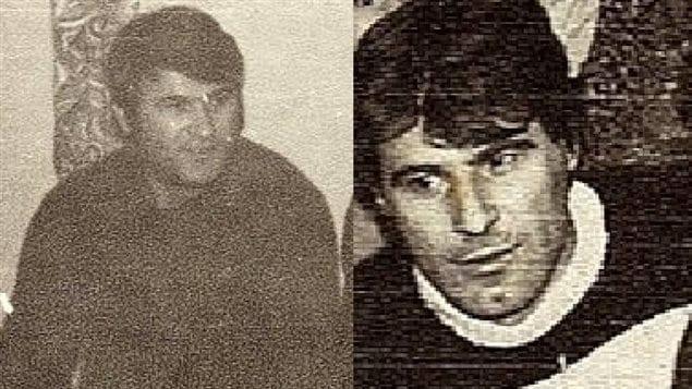 L'oncle d'Adis Simidzija, Murat (à gauche), et son père Muhamed, ont tous les deux été tués lors d'un massacre commis par les forces serbes en 1991 à Mostar, en Bosnie-Herzégovine.