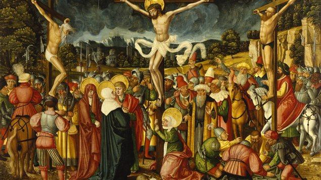 La crucifixion de J�sus de Peter Gertner