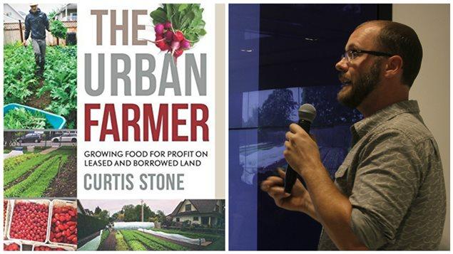 Curtis Stone, fermier urbain livre ses techniques de culture intensive sur petite surface.