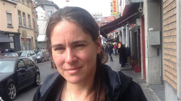 Sarah Turine, mairesse adjointe en charge de la jeunesse, de la cohésion et prévention sociale et du dialogue interculturel de Molenbeek