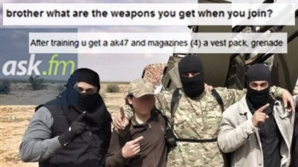ISIS uses social media to spread information about how to join the jihadist group.