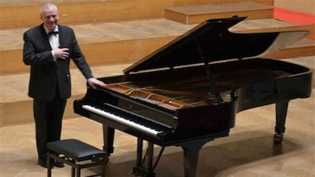 le pianiste belge Olivier de Spiegeleir