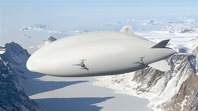 Hybrid Enterprises airships purchased by the UK's Straitline Aviation, may soon fly supplies to remote mines and communities in the far north of Canada and Alaska