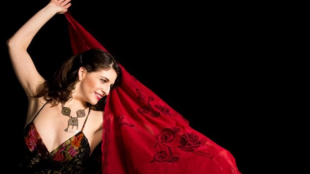 chanteuse et danseuse de flamenco