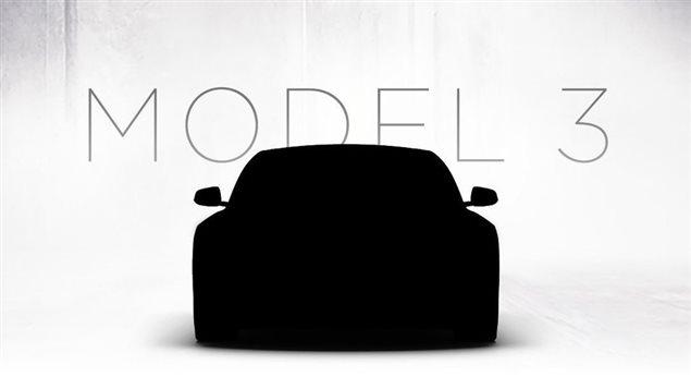 Le Model 3 de Tesla