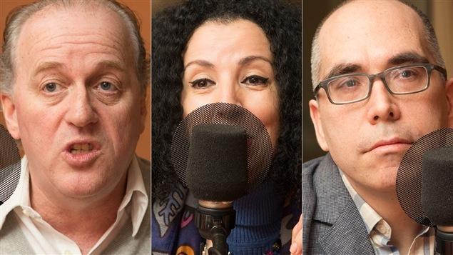 Jack Jedwab, Rachida Azdouz et Jocelyn Maclure