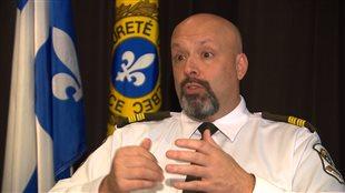 Guy Lapointe, porte-parole de la Sûreté du Québec