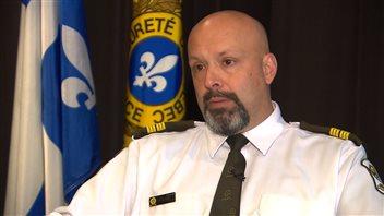 Guy Lapointe, responsable des communications à la SQ