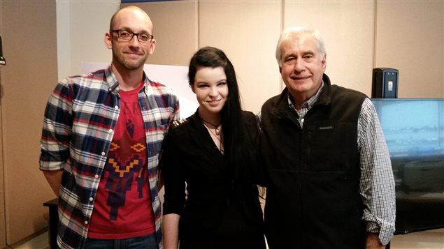 Mathieu Blais Fortin, Émilie Guevremont et Daniel Mathieu.