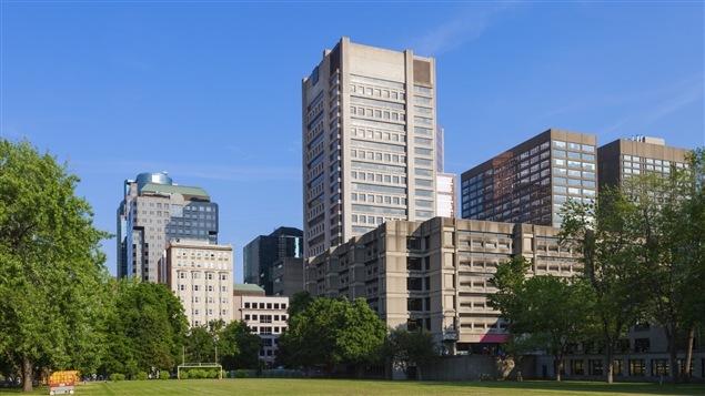 Vue du campus de l'Université McGill, à Montréal