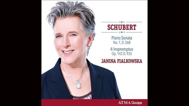 Pochette de l'album <i>Schubert : Piano Sonata - Four Impromptus</i> de Janina Fialkowska, paru sous étiquette ATMA Classique