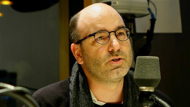 Alain Deneault de passage dans les studios du 15-18