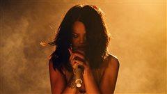 Rihanna en spectacle à Miami.