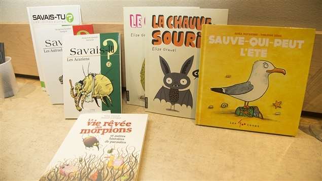Quelques-uns des livres présentés par Pierre Gingras durant sa chronique.
