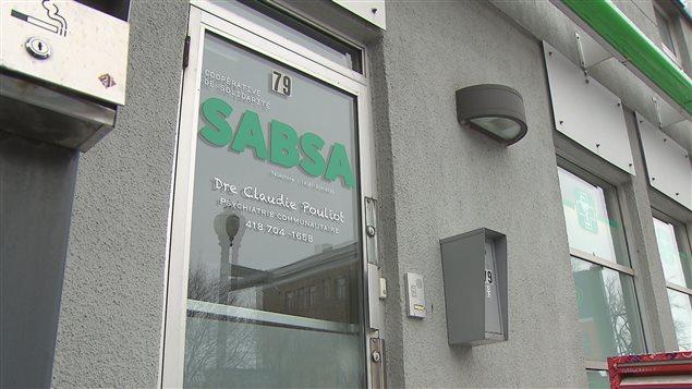 La clinique sans médecin Sabsa est située sur le bouevard Charest Est, dans Saint-Roch.