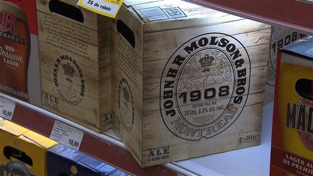Une bière de spécialité, la John H.R. Molson