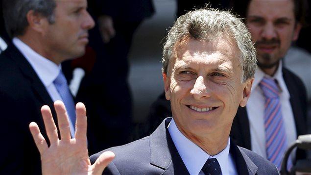 Mauricio Macri, presidente de Argentina. Su nombre figura en los