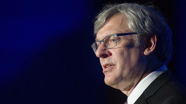 Le président et chef de la direction de la Banque Royale du Canada, David McKay.