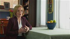 La première ministre Rachel Notley s'est adressée aux Albertains lors d'un discours télévisé jeudi soir.