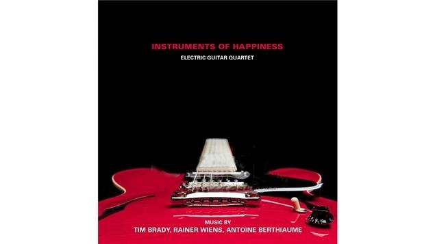 Pochette de l'album d'Instruments of Happiness, paru sous étiquette Starkland
