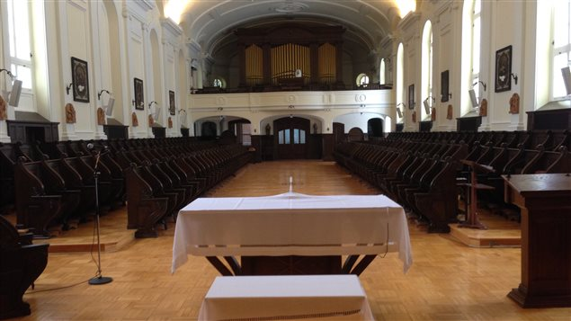 La chapelle du Monastère des Augustines de Québec
