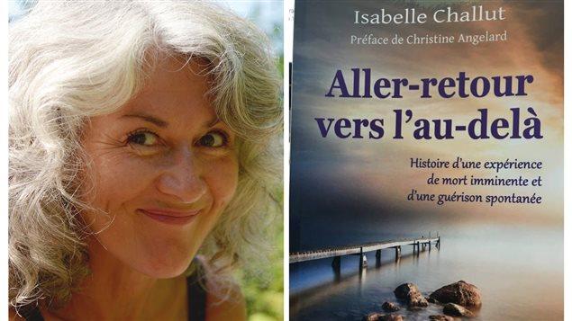 Isabelle Challut, auteure du livre Aller-retour vers l'au-delà.