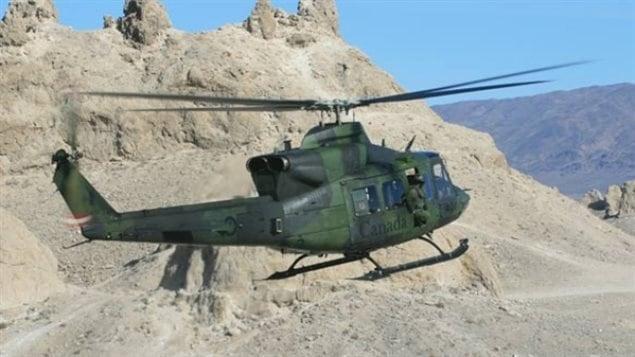 Hélicoptère Griffon en Afghanistan