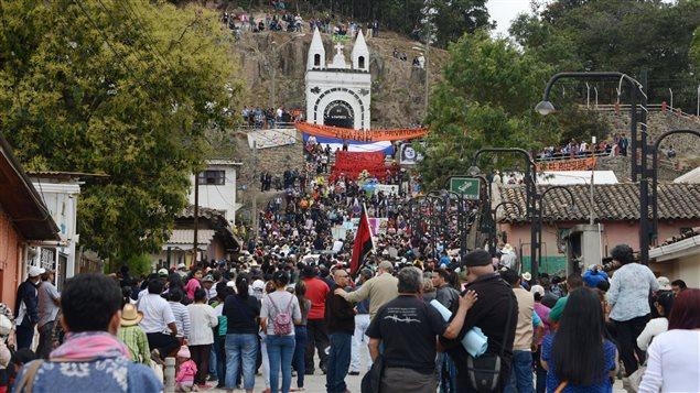 Entierro de Berta Cáceres