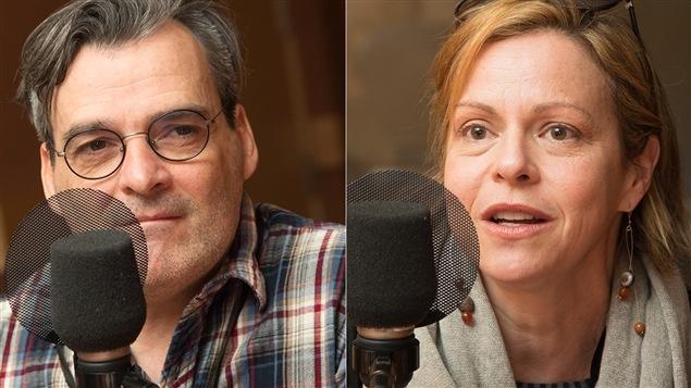Serge Boucher et Maude Guérin