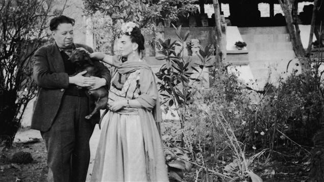 Diego Rivera et Frida Kahlo.