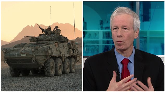 An earlier model of the Canadian built LAV and Foreign Minister Stephane Dion who says in future exports to Saudi Arabia will be more accountable and in accord with international law and human rights, but the $15 billion dollar sale of the latest model LAV have had export permits approved