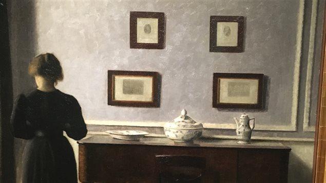 Une oeuvre de Vilhelm Hammershøi achetée par le Musée des beaux-arts de Ontario.