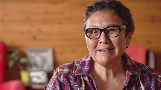 Edna Elias appears in a still from the documentary Edna's Bloodline, which traces her Swedish ancestry. According to filmmaker Eva Wunderman, Elias's great grandfather was a Swede who trapped and hunted, established a Hudson's Bay post and sailed the Northwest Passage. (Wunderman Film Inc.)